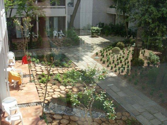 Tirena Hotel: Vue du couloir