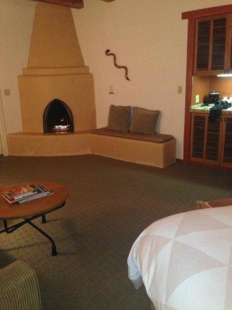 Bishop's Lodge Resort & Spa : my room at the Bishops Lodge