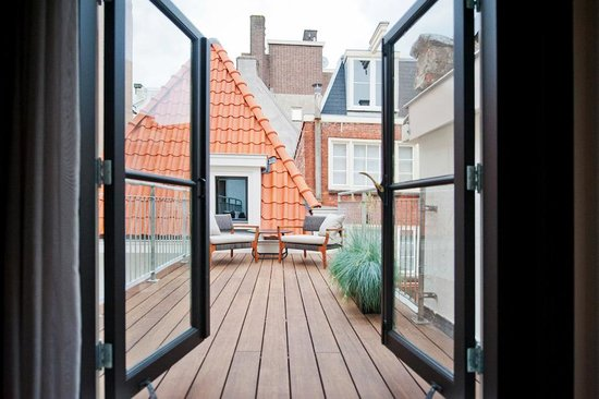 Hotel IX Amsterdam: Roof terrace berenstraat suite