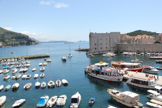 Tirena Hotel: Port de Dubrovnik