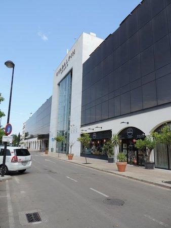 Apartamentos Guadalpin Boutique: Hotellets facade