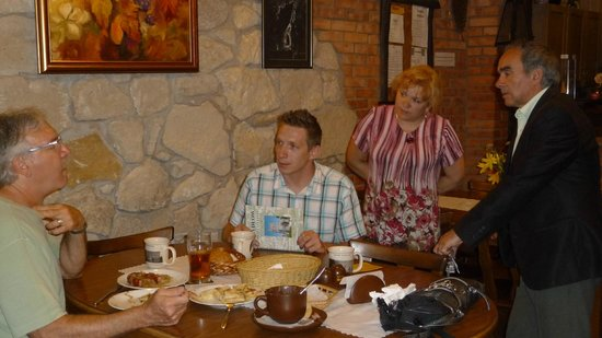 Krakow Discovery - Auschwitz Salt Mine Tours : The only restaurant in Szydlow.