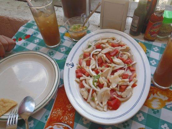Pizzeria Edelyn: Ceviche de caracol!