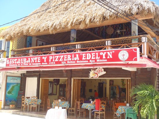 Pizzeria Edelyn: El restaurant