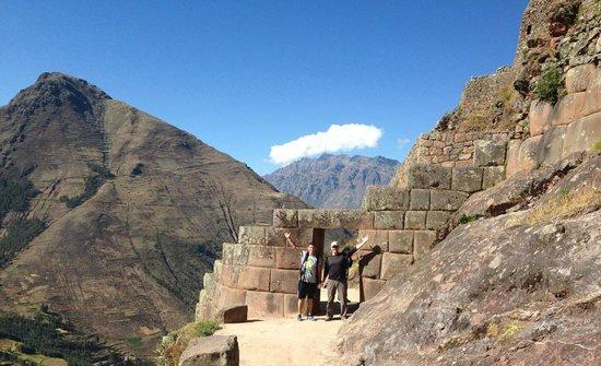 Cusco Native Tours & Treks: Gate at Pisac, Peru