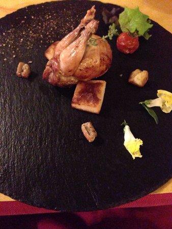 Cum Quibus: Antipasti: quail dish