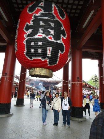 Senso-ji Temple : Portão Kaminarimon