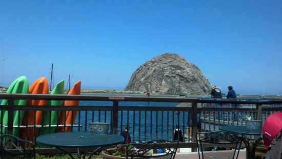 456 Embarcadero Inn & Suites: Morro Bay Rock
