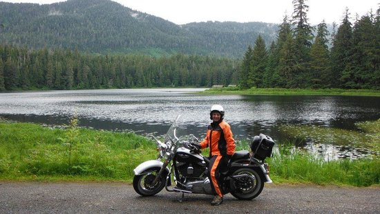 Panhandle Motorcycle Adventures: The Scenery at Ward Lake was Gorgeous