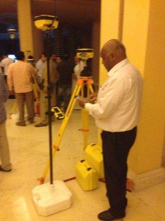 Park Hyatt Jeddah - Marina, Club & Spa : Checking the new equipments