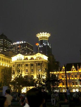The Westin Bund Center Shanghai: Landscape that includes the Westin