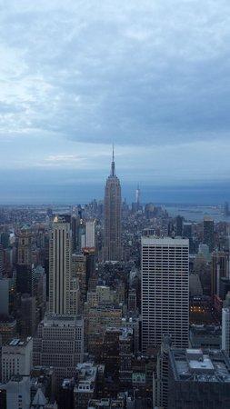 Rockefeller Center Tour: The Empire States visto do Rockefeller