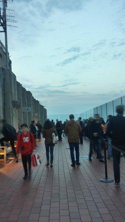 Rockefeller Center Tour: Um dos observatórios do Top of the Rock