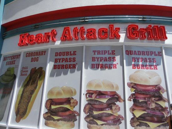 Heart Attack Grill: On Freemont Street