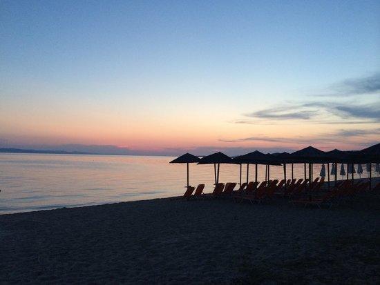 Sunset Studios : The Beach Bar by sunset.
