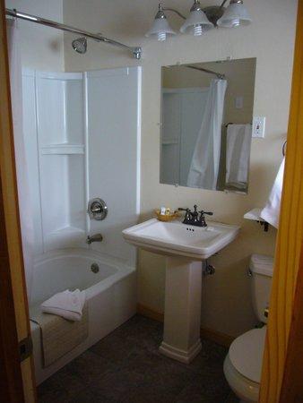 Discovery Lodge : Clean, nice bathroom