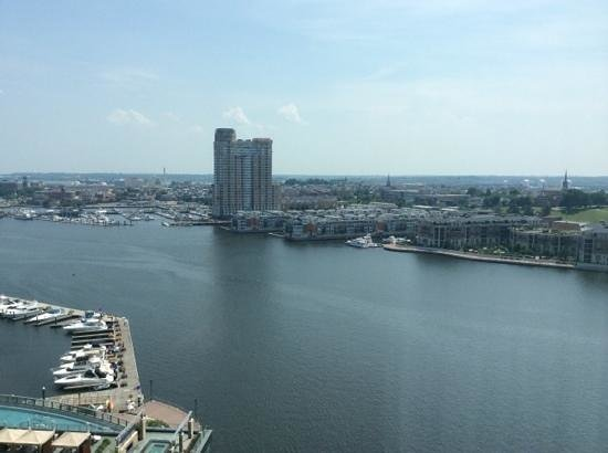 Baltimore Marriott Waterfront: a room with a view