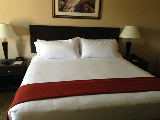 Holiday Inn Express Hotel & Suites Roseville-Galleria Area: Bed