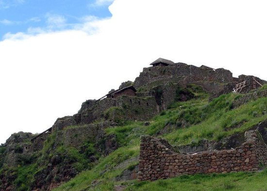 Pisac: Looking up the hill