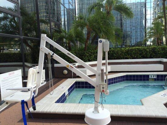 Hilton Tampa Downtown: Preocupação com acessibilidade