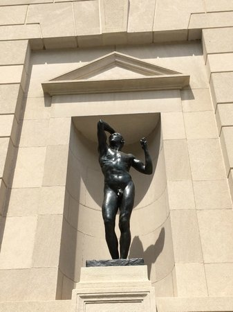 Rodin Museum: young man