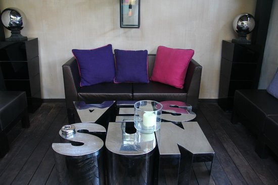 Hotel Saint Amour La Tartane : Sitting
