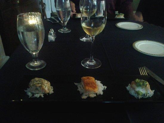 Lafayette Inn & Restaurant : 10 course Chef Tasting