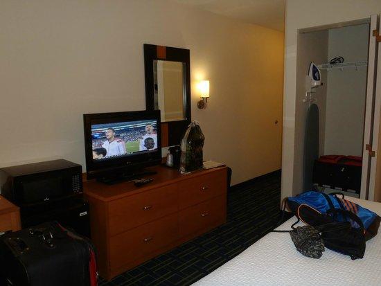 Fairfield Inn & Suites Fort Pierce: Our Room!