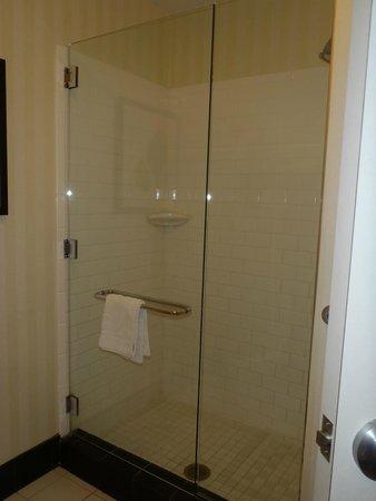 Fairfield Inn & Suites Fort Pierce: Shower Area....