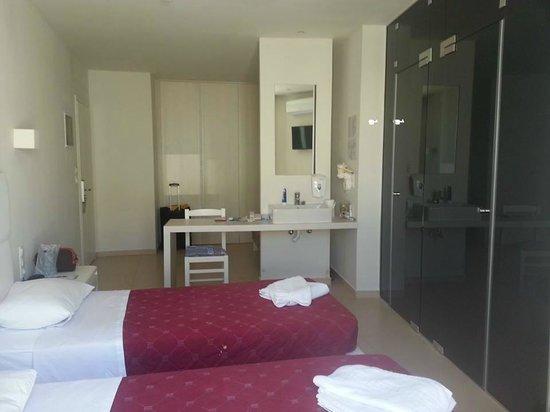 Dimitrios Beach Hotel: chambre
