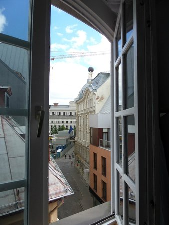 Hotel Man-Tess : View from our room 1904 Art Nouveau Atlas with Opera House in background