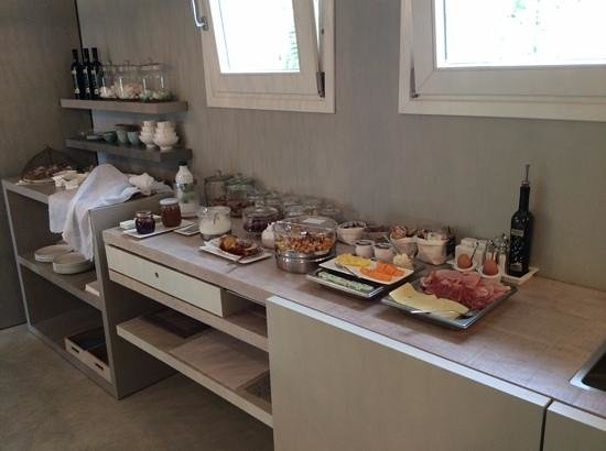 B&B Panorama Cinque: the buffet breakfast