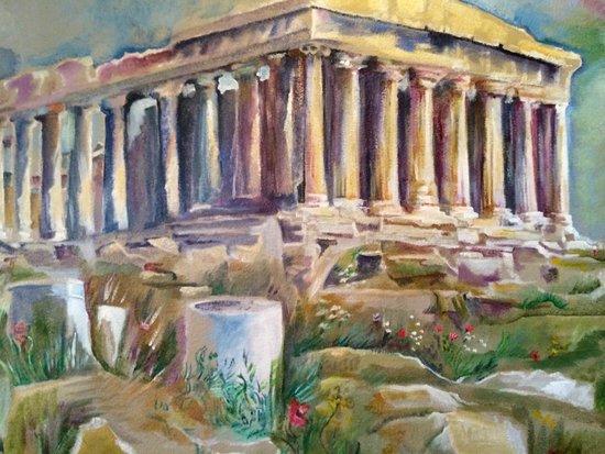 olive oil: Acropolis