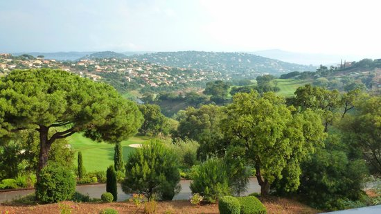 Amarante Golf Plaza : Au loin, la baie de Saint-Tropez