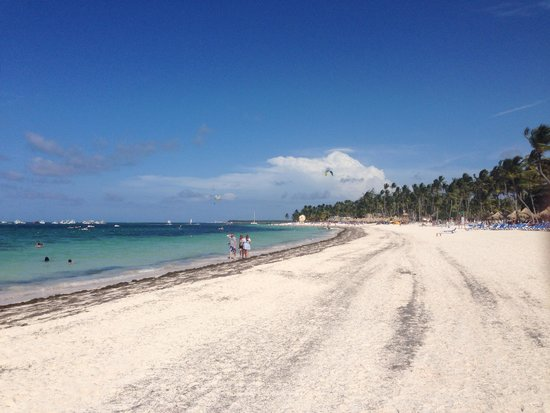 Paradisus Palma Real Golf & Spa Resort: The beach was never crowded