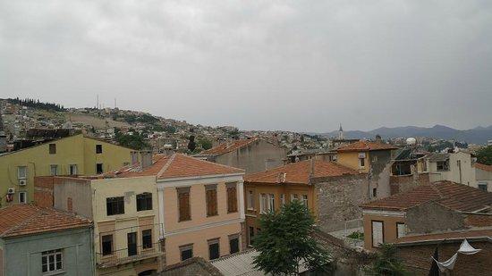 Hotel Baylan: Вид с террасы