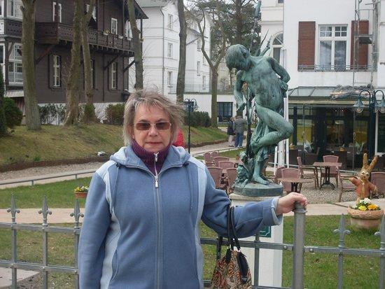 Aurelia Hotel St. Hubertus: Widok na Hotel Aurelia w Herinhsdorf.