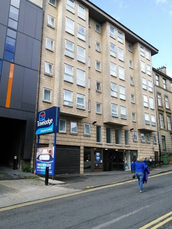 Travelodge Glasgow Central: Hotel front