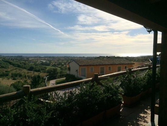 Hotel Pedra Ruja: Terrace view