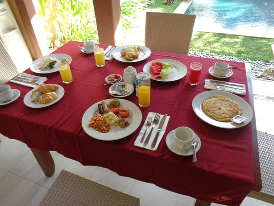 Mutiara Bali Boutique Resort & Villas : Breakfast