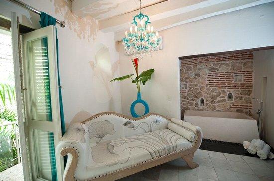 Hotel Aguamarina: Interiores