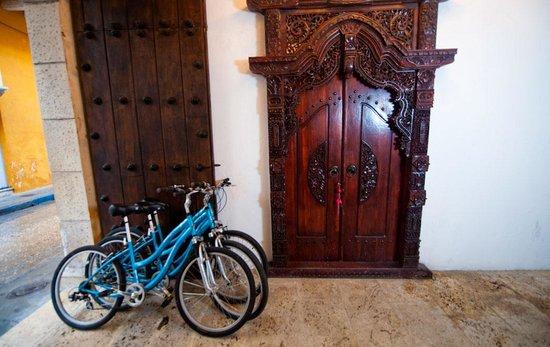 Hotel Aguamarina: Entrada