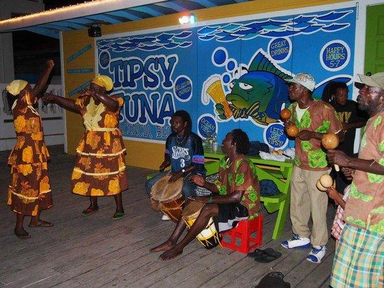 Tipsy Tuna : Garifuna Drumming!  Wednesday nights at Tipsy!