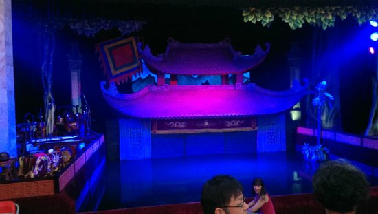 Thang Long Water Puppet Theater: Stage