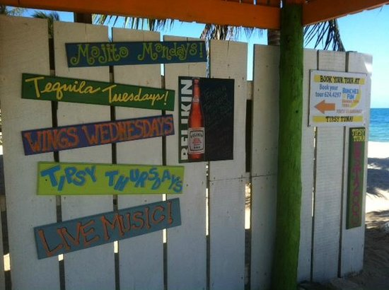 Tipsy Tuna : Fun, informational signs!