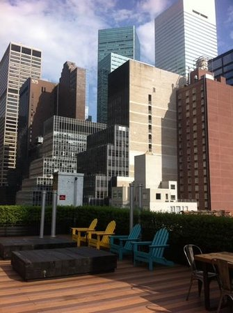 Pod 51 Hotel: Roof terrace