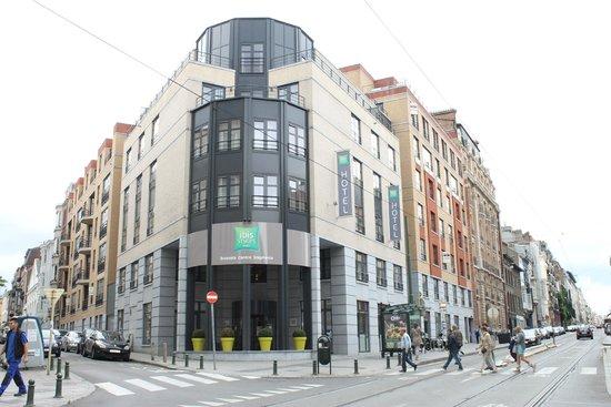 Ibis Styles Brussels Centre Stephanie : Entrada