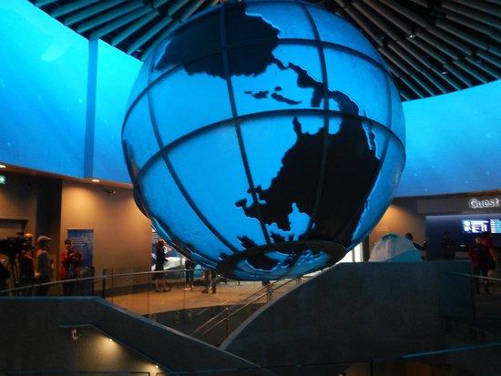 Vancouver Aquarium: entrance