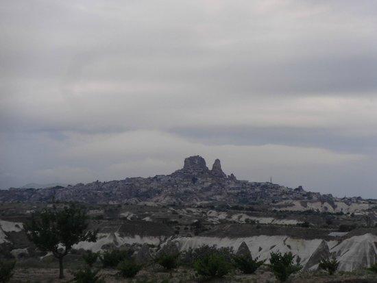 Uchisar Castle : from afar