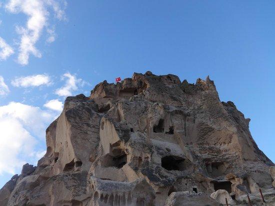Uchisar Castle : the castle